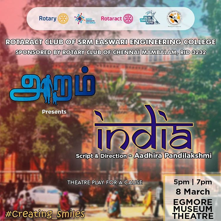 INDIA - A Theatre Play For a Cause by ARAM